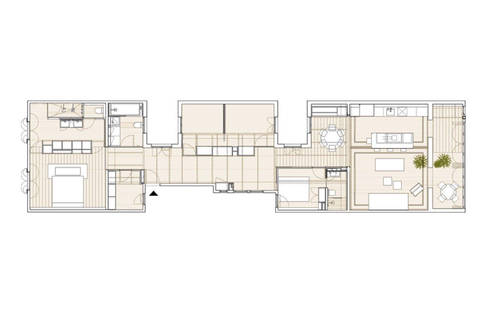 Apartment AM new floor plan