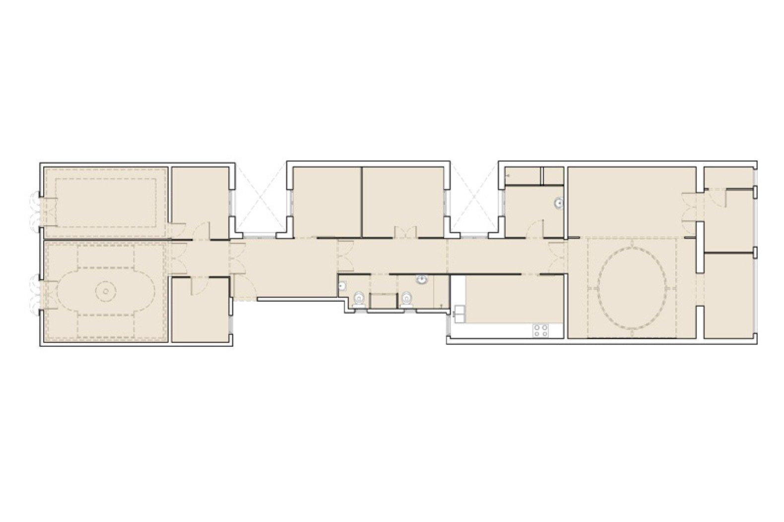 Apartment AM original floor plan