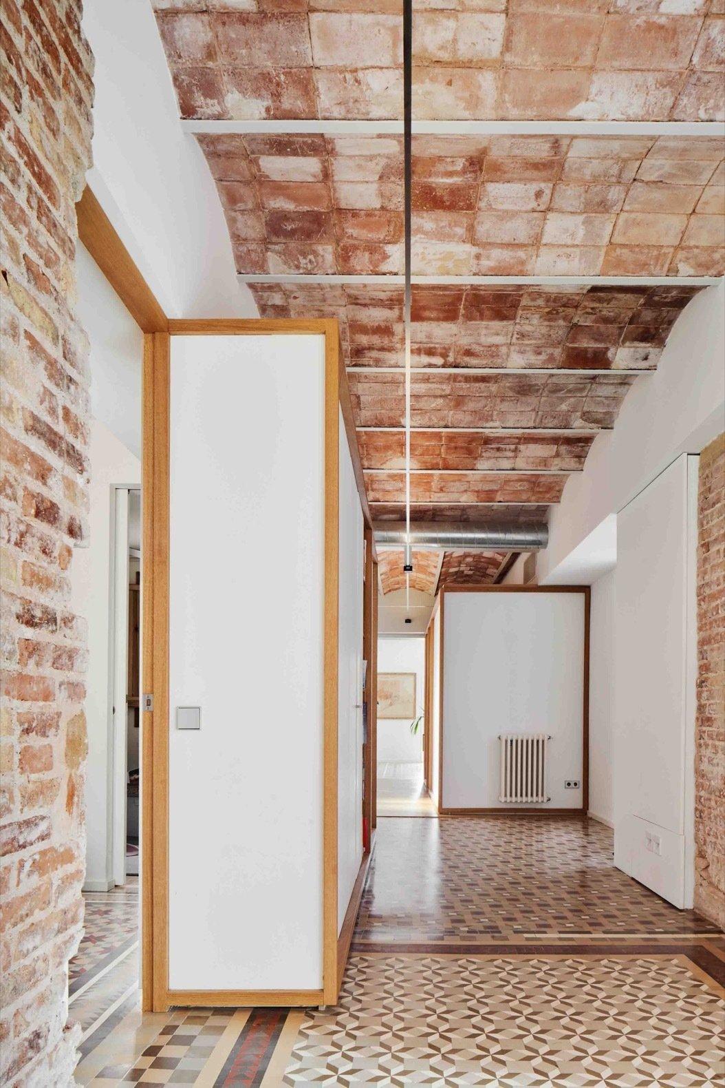 Apartment AM hallway with Nolla Mosaic tile