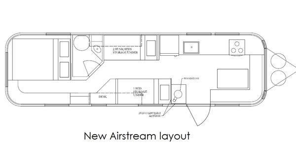 Airstream Borrows Space-Saving Tips