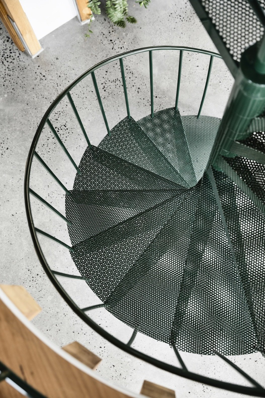 St Andrews Beach House spiral staircase