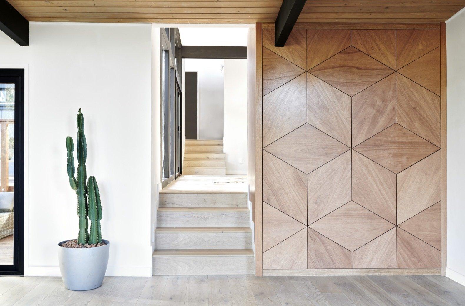 midcentury hillside remodel stairs