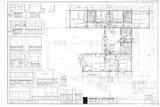 Wayne Littlejohn's original floor plan
