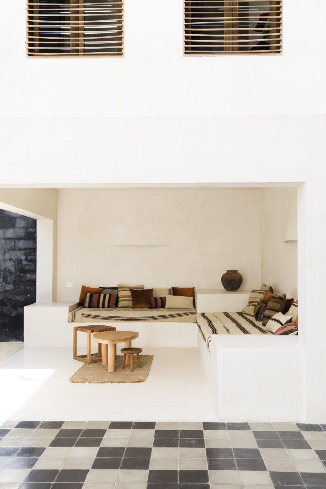 Casa Pueblo Tulum lounge area