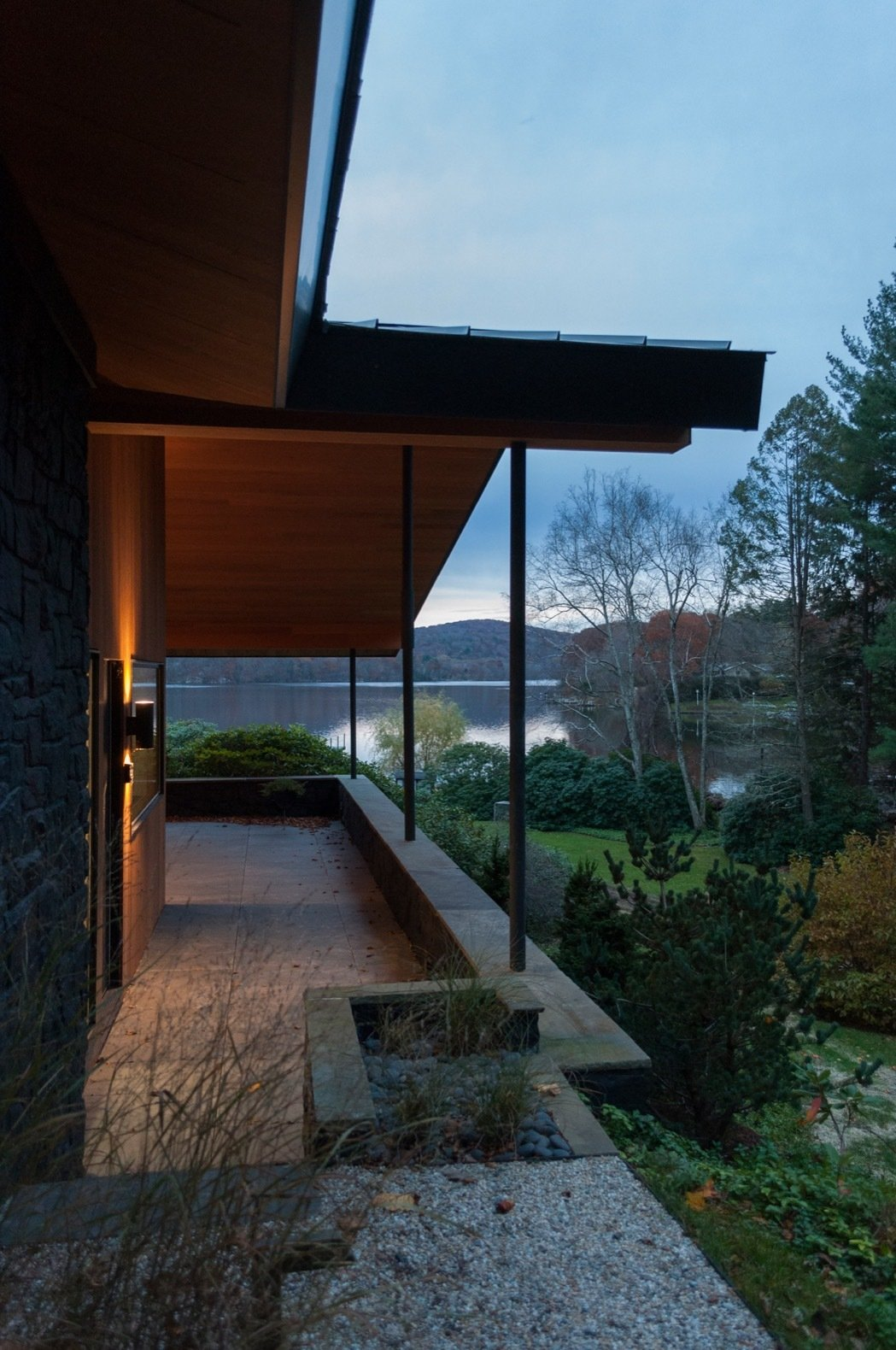 Candlewood Lake House south porch