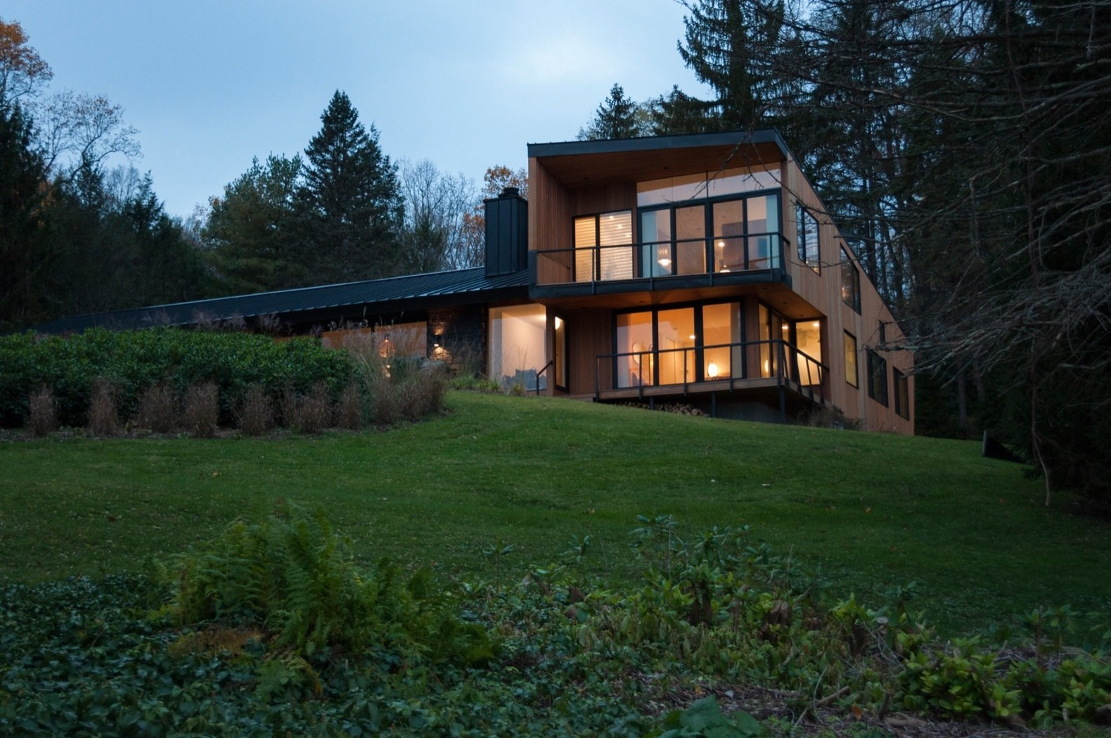 Candlewood Lake House exterior
