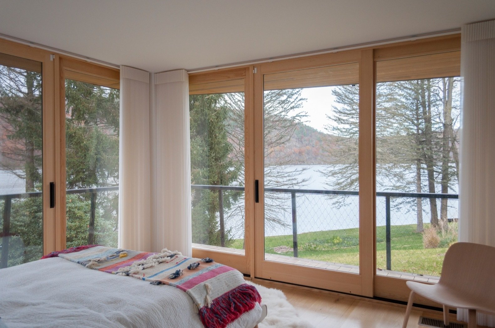 Candlewood Lake House bedroom