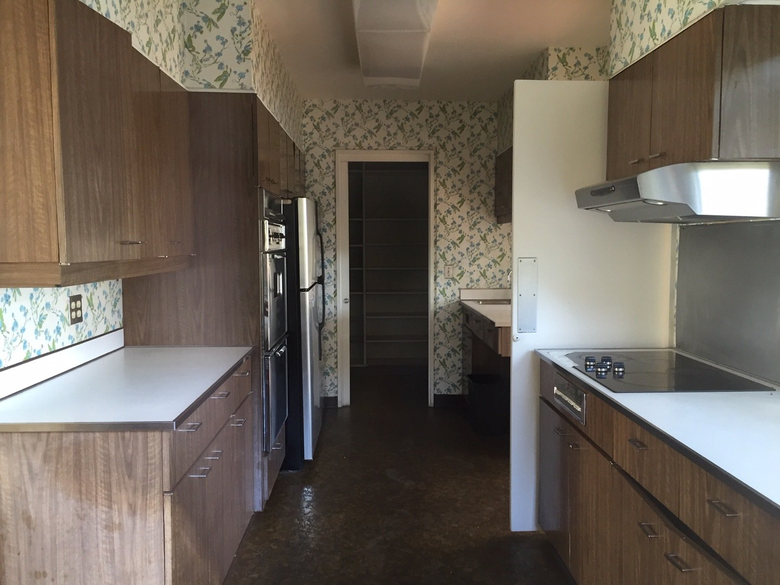 Before: Candlewood Lake House kitchen