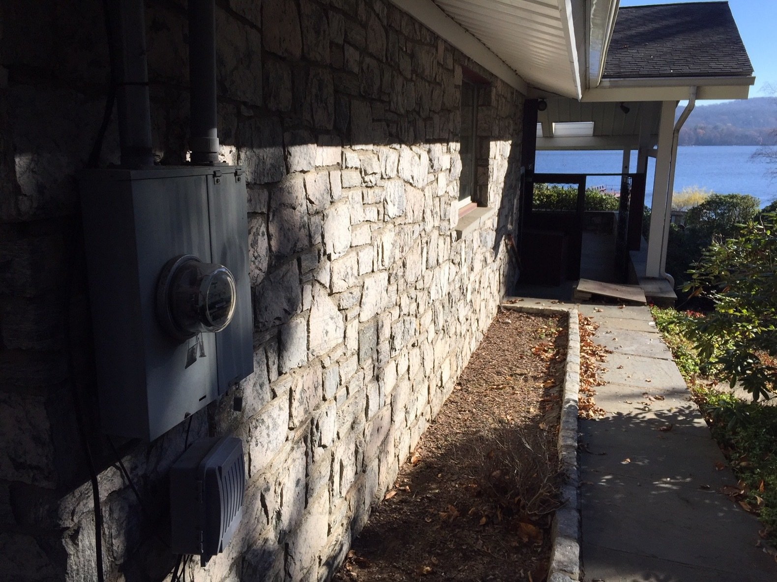 Before: Candlewood Lake House south porch