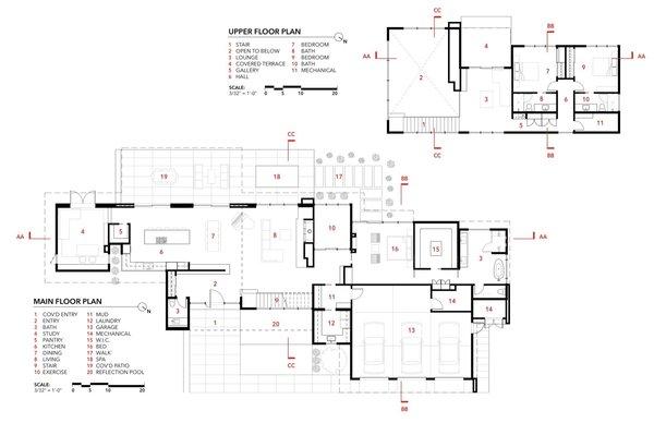 Wildwood House floor plans