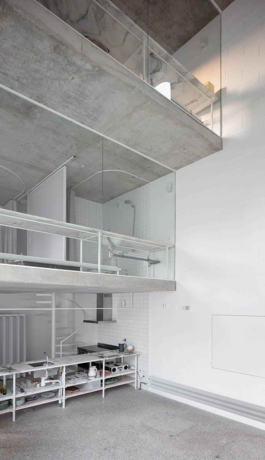 Dodged House interior