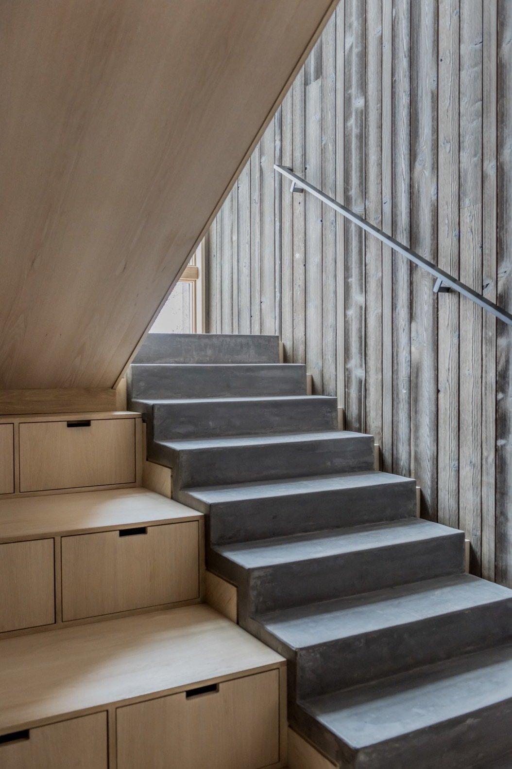 Gammel Dam concrete stairs