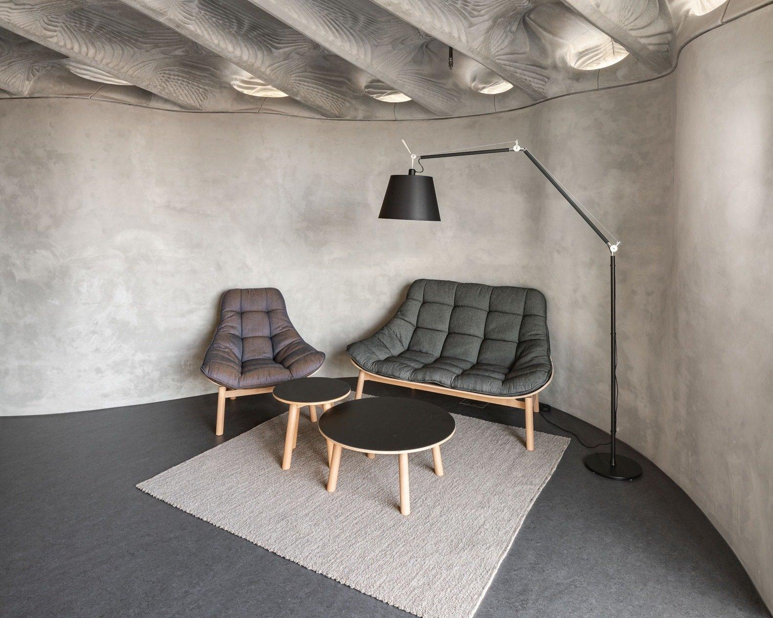 DFAB House living room