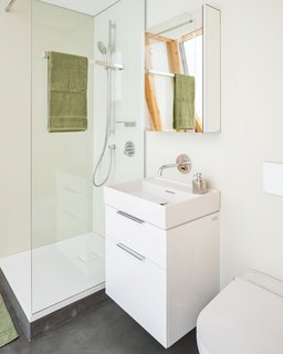 Each bedroom comes with a private bathroom.