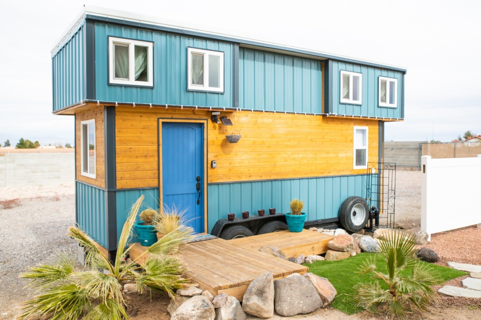 Blue Baloo tiny house