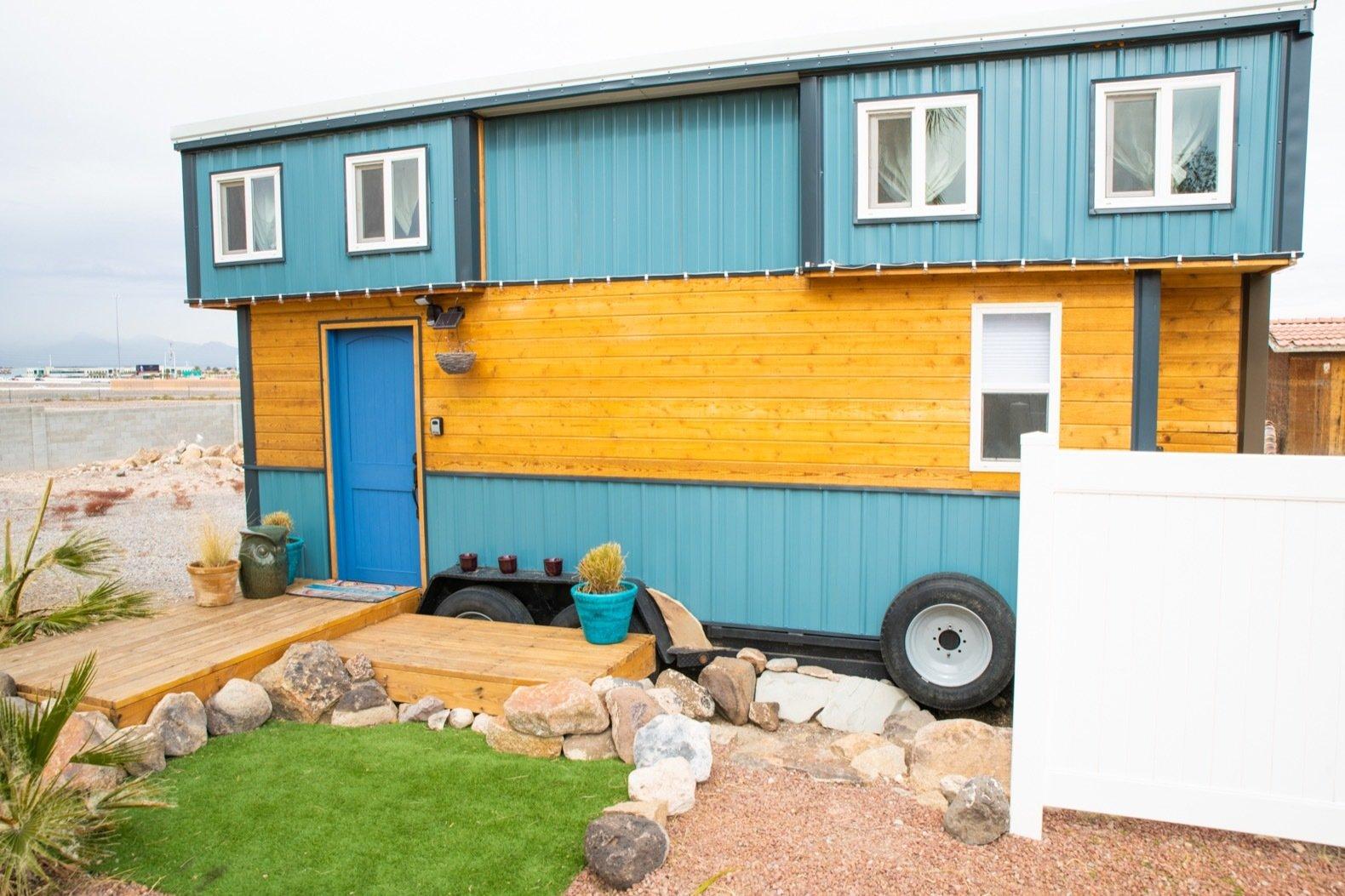 Blue Baloo tiny home
