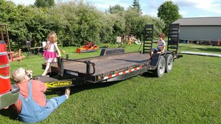 The couple purchased a used utility trailer, and, with some ingenuity and hard work, turned it into the foundation for their tiny house.