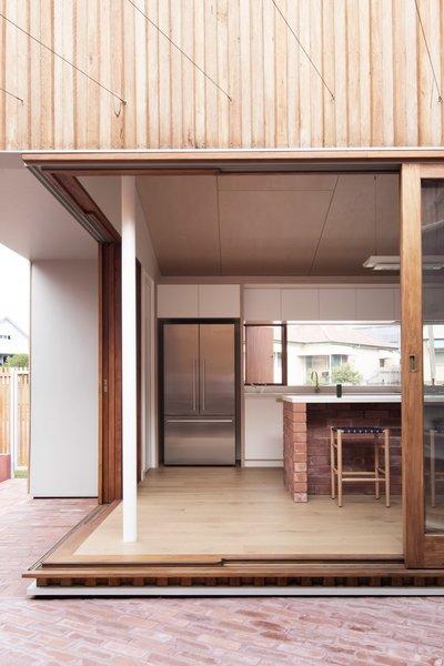 Glazed Sliding Doors Blur The Lines Between Indoor And Outdoor Living Help Bring In Cooling