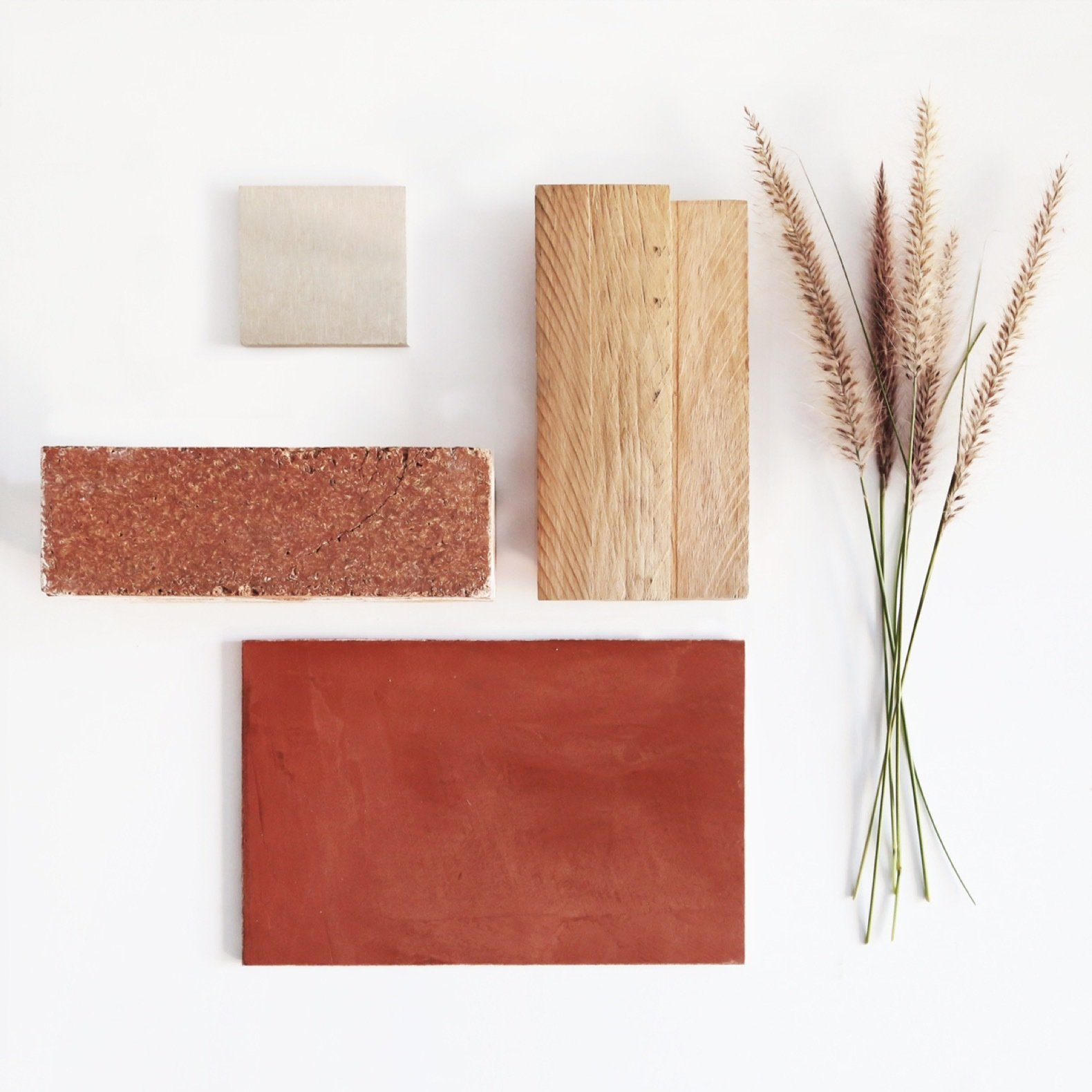 Three Piece House material mood board