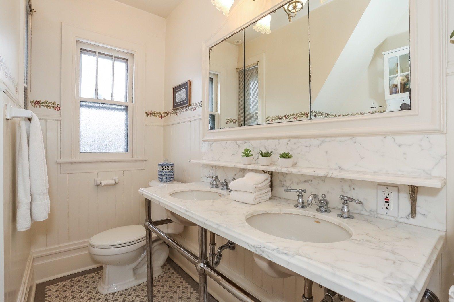W. Irving Clark House bathroom