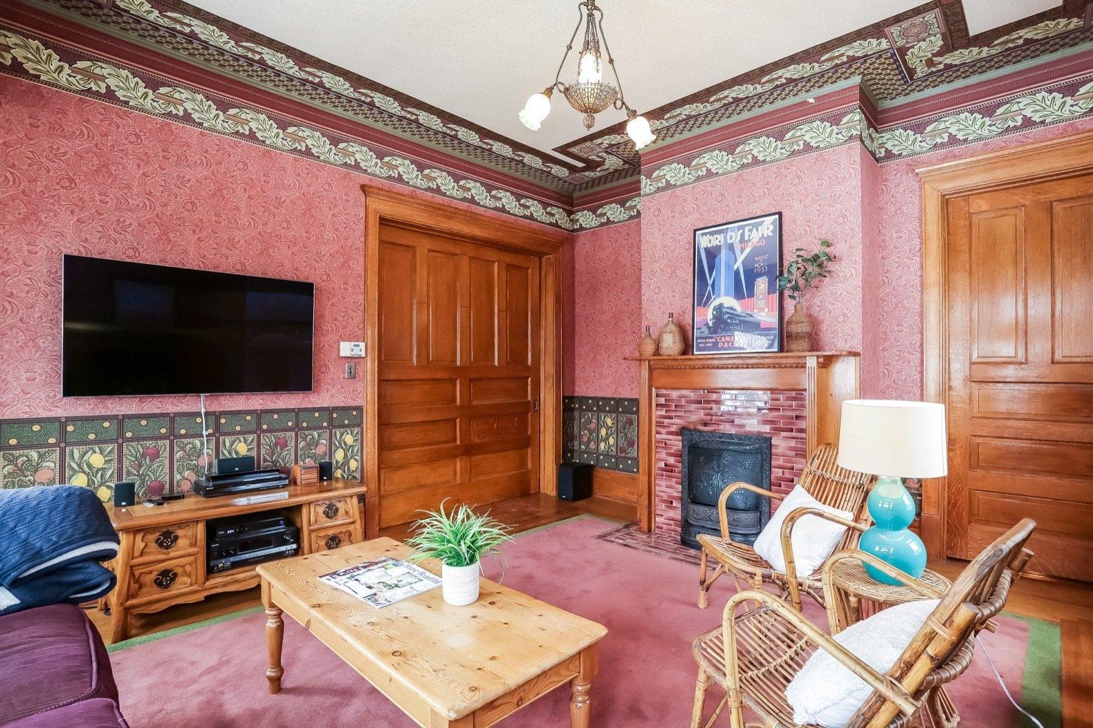 W. Irving Clark House family room