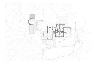 Portola Valley first floor plan