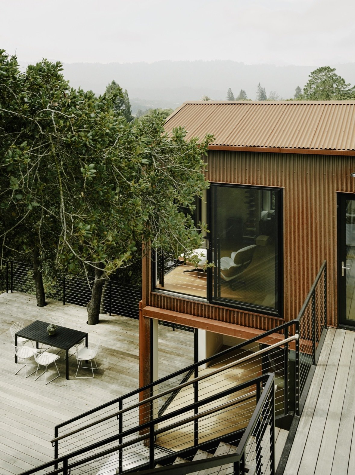 Portola Valley House annex exterior