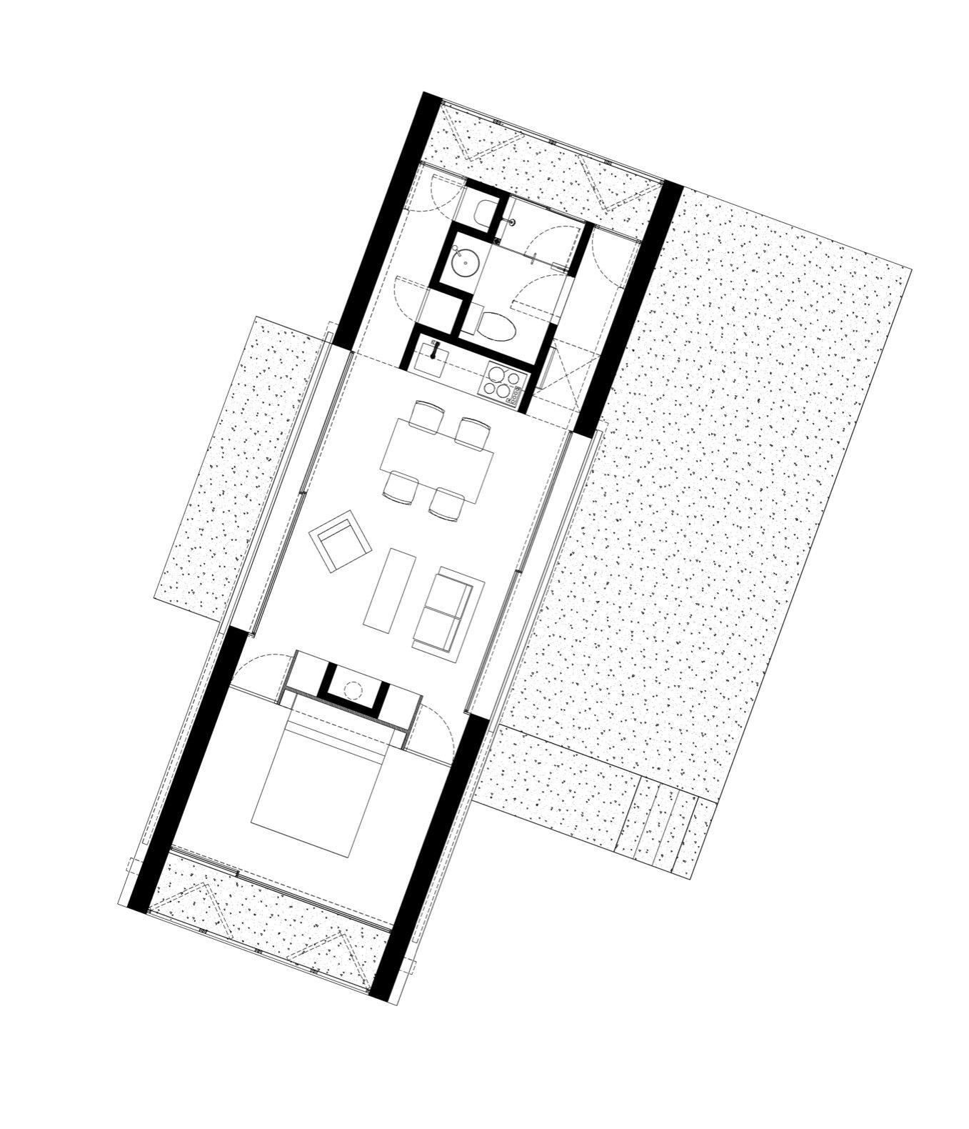 Aculco House floor plan