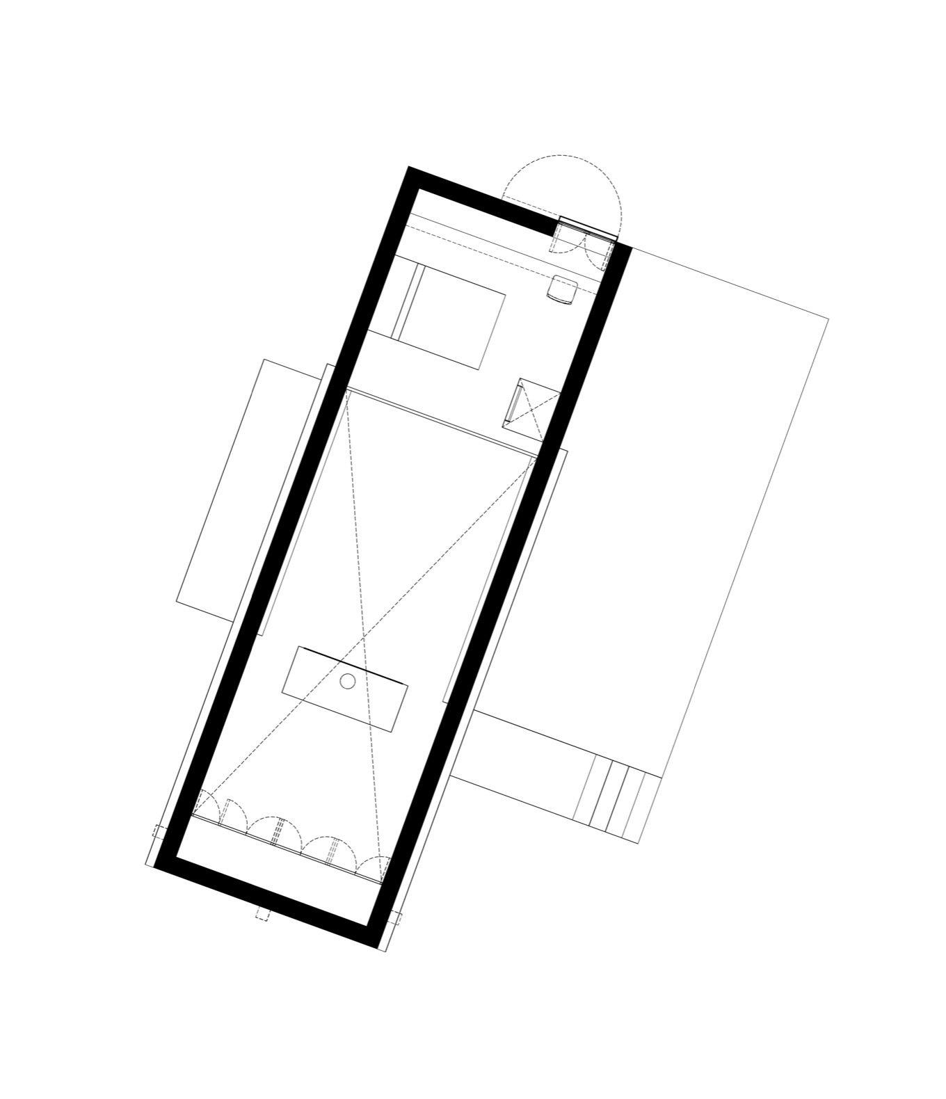 Aculco House upper floor plan