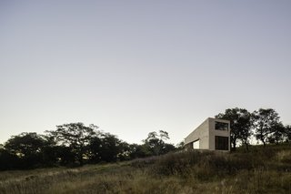"""The Aculco holiday home is """"completely isolated in the middle of nowhere surrounded by nature,"""" the architects say."""