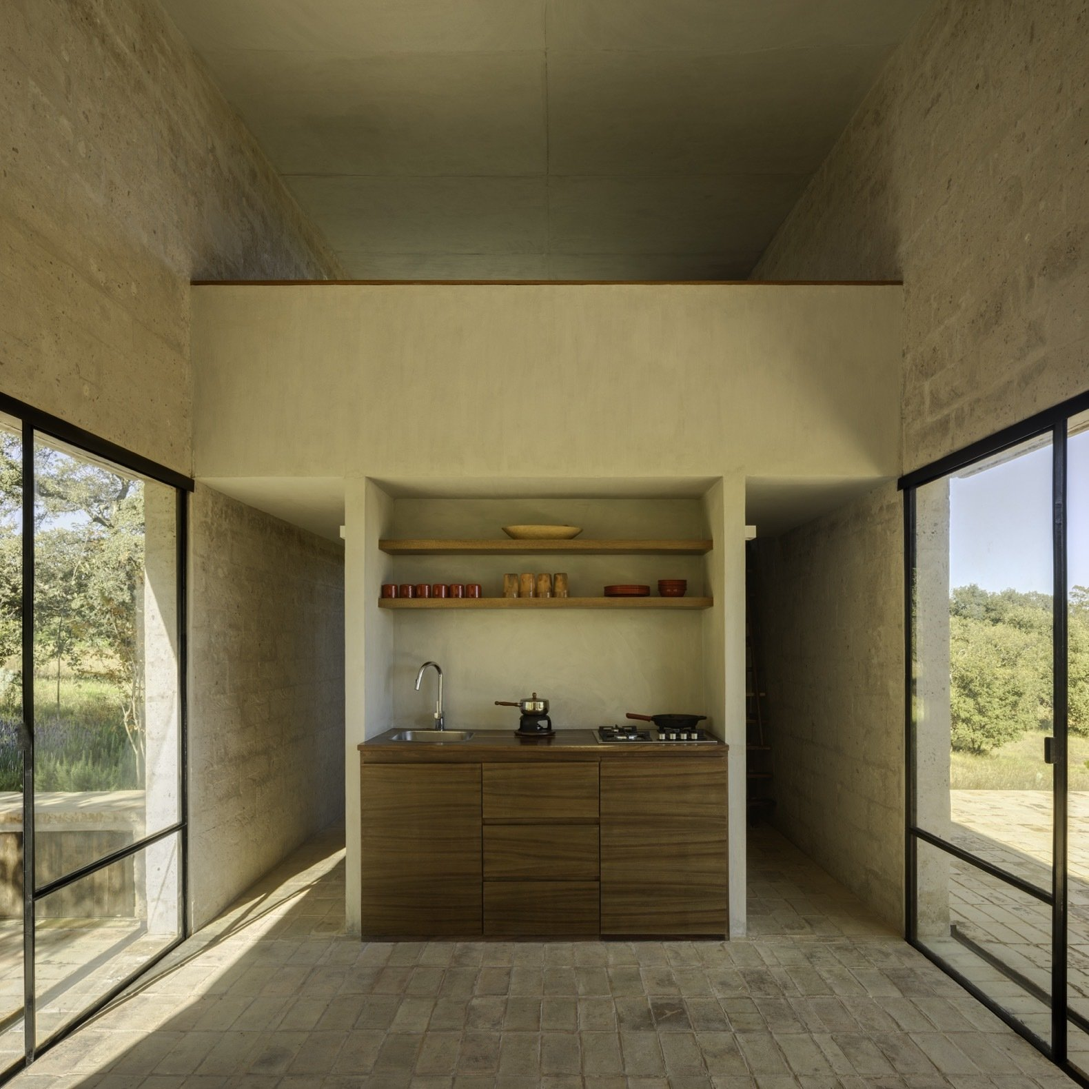 Aculco holiday home kitchen