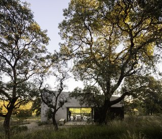The holiday home took two years to complete—from design conception to construction.