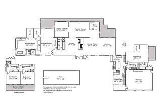Thunderbird Heights original floor plan