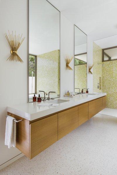 Best 30 Modern Bathroom Terrazzo Floors Design Photos And