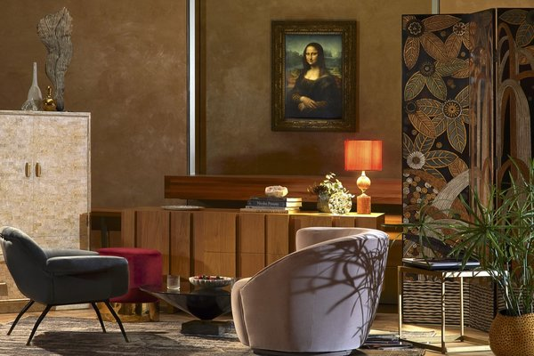 The lucky contest winner and their guest will be treated to a Renaissance-inspired aperitif in a sitting room with an intimate view of the Mona Lisa.