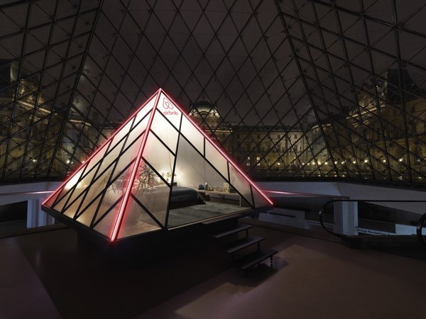 Airbnb has partnered with Musée du Louvre to celebrate 30 years of the museum's iconic pyramid.