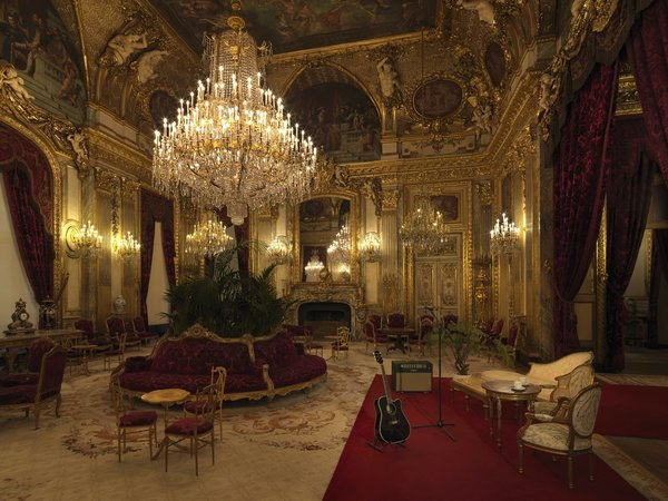 Guests will also be treated to an acoustic concert in Napoleon III's luxurious chambers before tucking into bed.