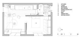 Type St. Apartment floor plan