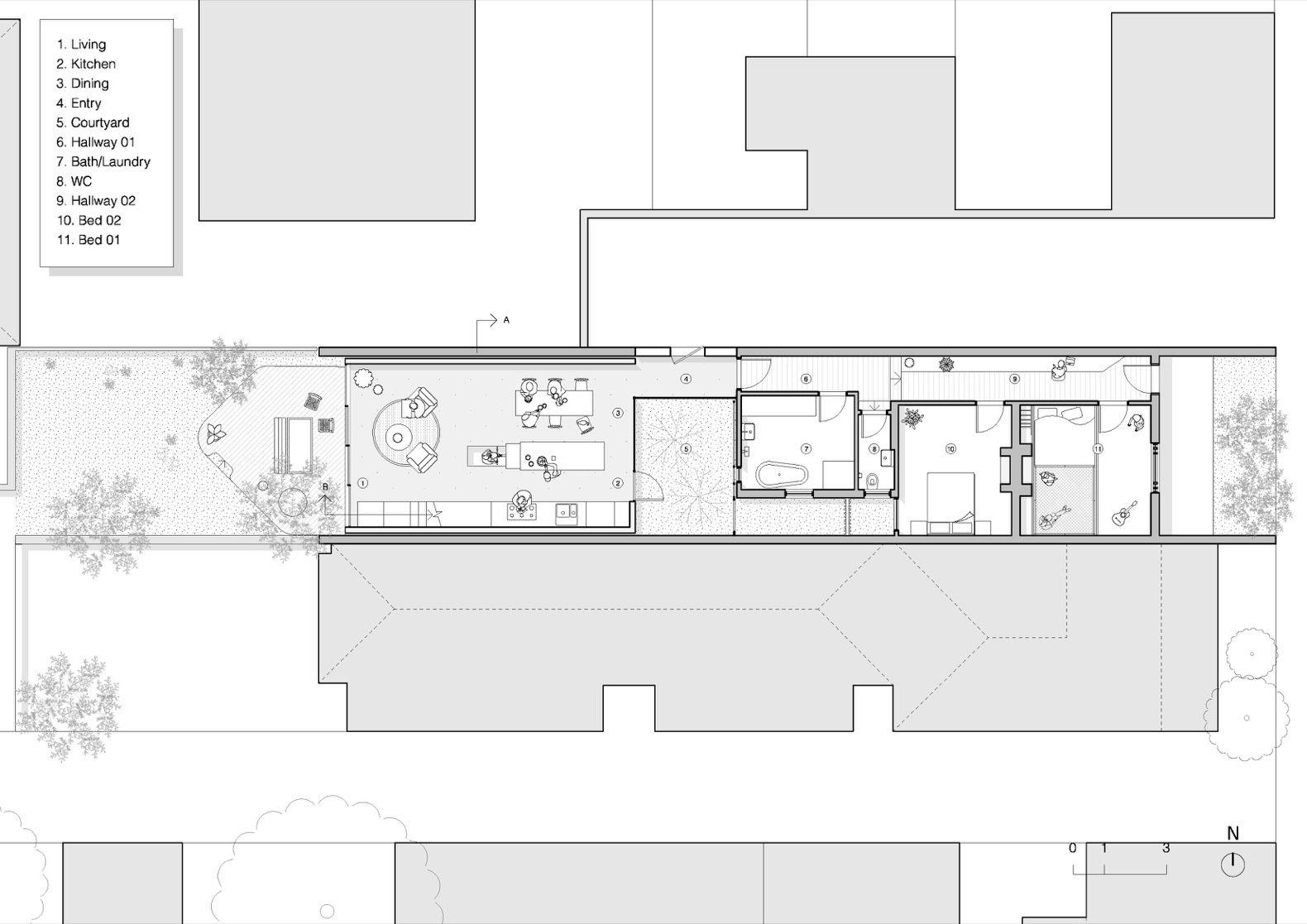 Grant House ground floor plan