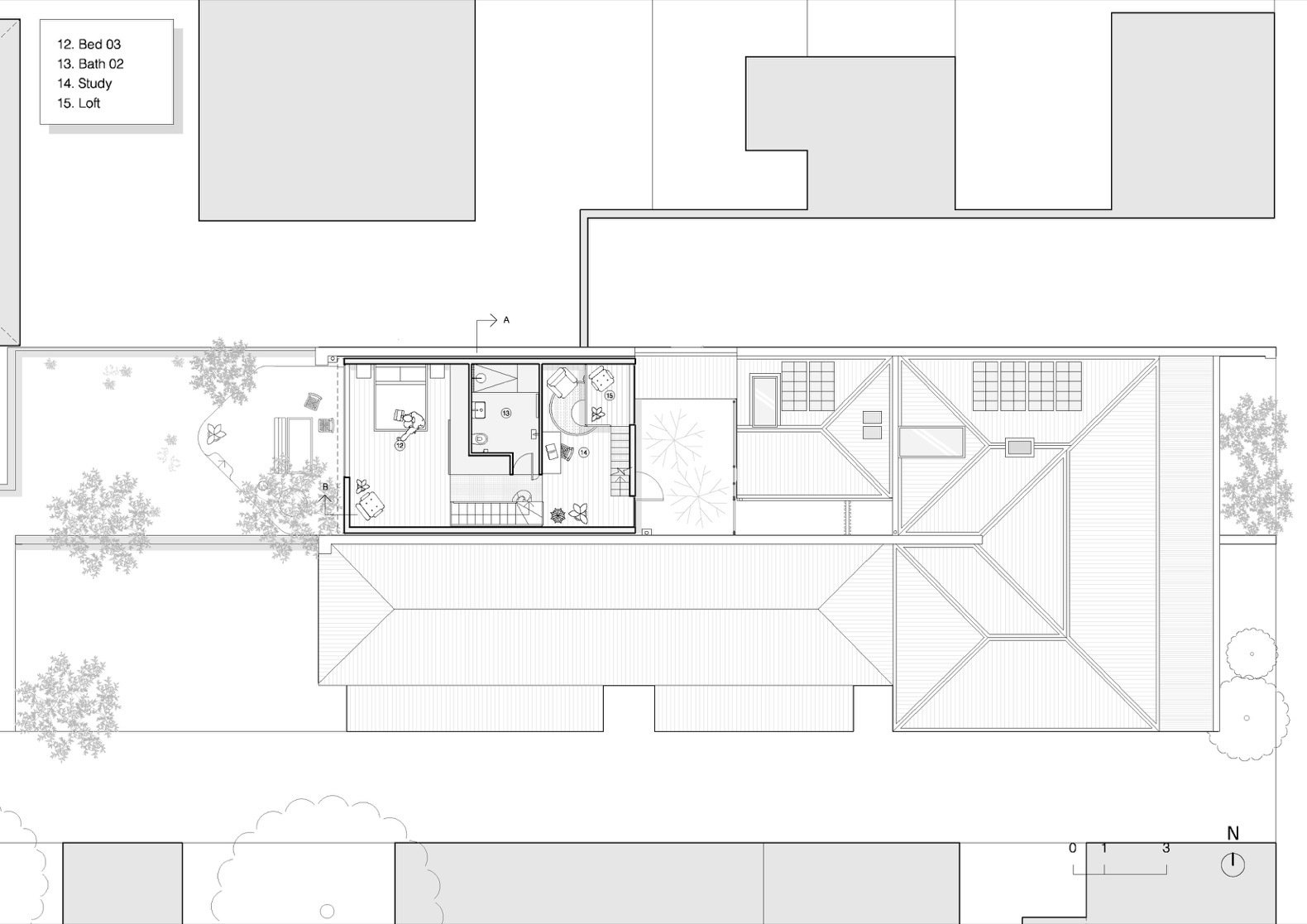 Grant House first floor plan