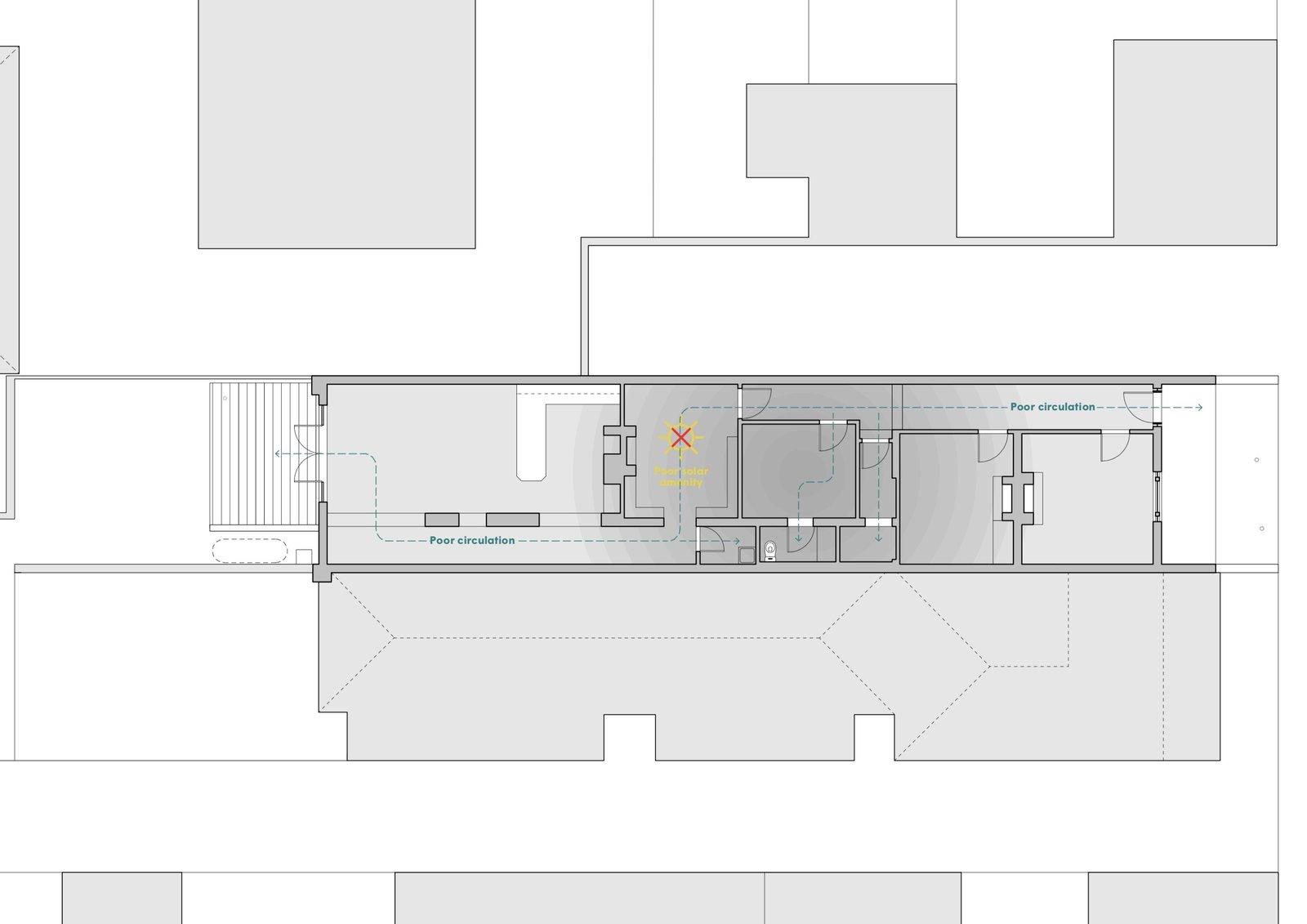 Grant House original floor plan