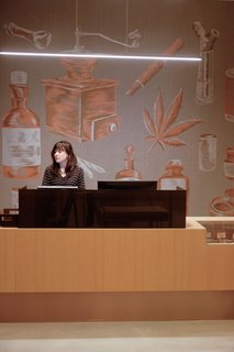 Where most other dispensaries have an intimidating security guard, Seven Point greets customers with a cannabis concierge.