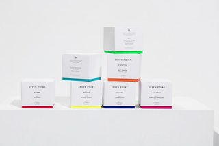Working together with their sister company La Tortilleria, Curioso also designed the entire brand concept for Seven Point. The name Seven Point relates to the seven points on a cannabis leaf.