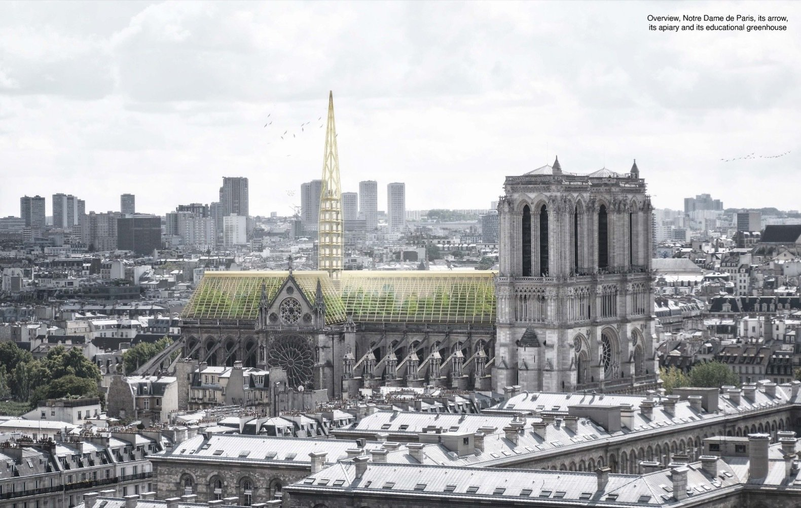 8 New Spire Designs That Could Crown the Notre Dame Cathedral
