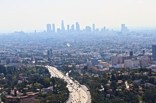 """In the """"most polluted"""" rankings, the Los Angeles-Long Beach area ranked first for ozone levels, fifth for year-round particle pollution, and seventh for short-term particle pollution. The Californian areas of Bakersfield and Fresno-Madera-Hanford were also among the worst."""