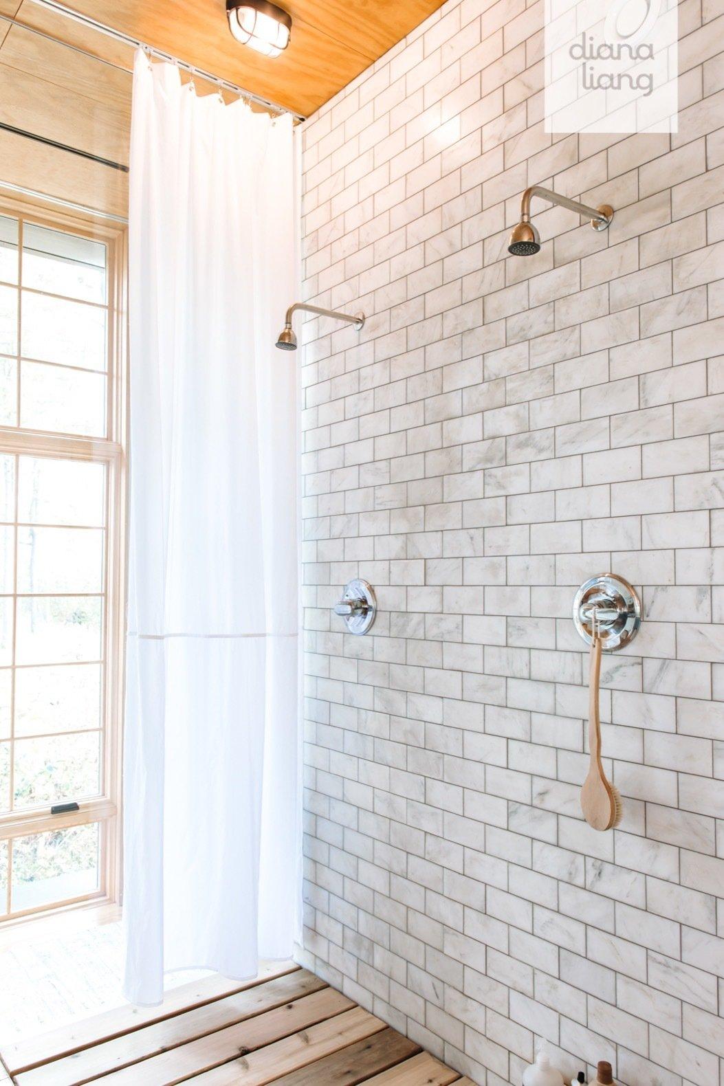 Hygge Supply Lake House prefab shower