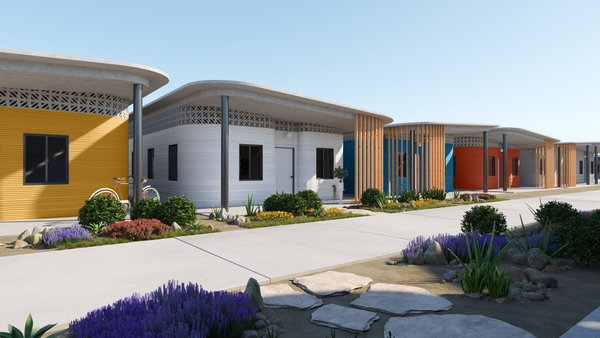 The World's First 3D-Printed Village Is Coming to Latin America This Summer