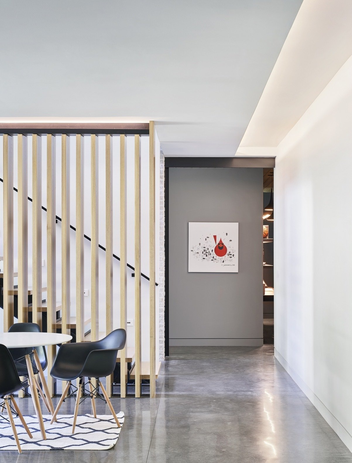Streamline House staircase
