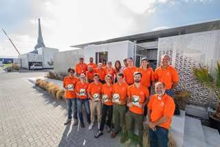 Virginia Tech was the only American team at the 2018 Solar Decathlon Middle East in Dubai. Over 100 students and faculty were involved in the home's research and development; a dozen students and faculty were on-site in Dubai to erect the house.