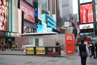 """The FutureHAUS debuted in Times Square today, and it will be open for public viewing and tours daily from<span style=""""font-family: Theinhardt, -apple-system, BlinkMacSystemFont, """"Segoe UI"""", Roboto, Oxygen-Sans, Ubuntu, Cantarell, """"Helvetica Neue"""", sans-serif;"""">11 a.m. to 9 p.m.</span><span style=""""font-family: Theinhardt, -apple-system, BlinkMacSystemFont, """"Segoe UI"""", Roboto, Oxygen-Sans, Ubuntu, Cantarell, """"Helvetica Neue"""", sans-serif;"""">until May 22.</span>"""